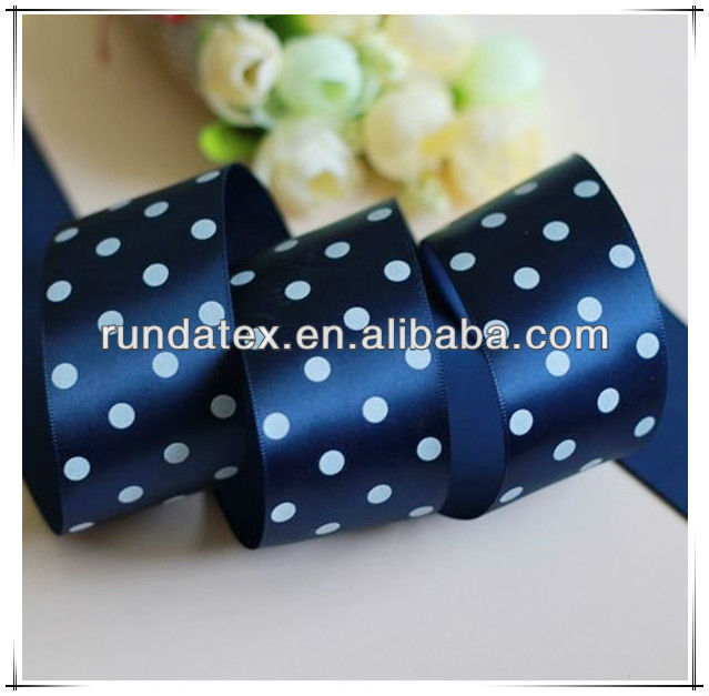 Polyester Satin Ribbon for wedding car decoration