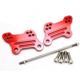 FYAYR010RD Red Motorcycle Aluminum Accessories Adjustable Foot peg Mount Brackets Kit For YZF R3 YZF R25 2014 2015