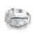 Fashion luxury temperament Women's Jewelry 925 sterling silver inlay Cz drill Engagement Ring