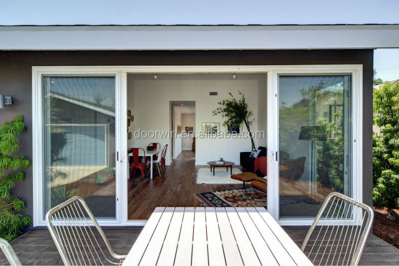 Exterior patio sliding doors