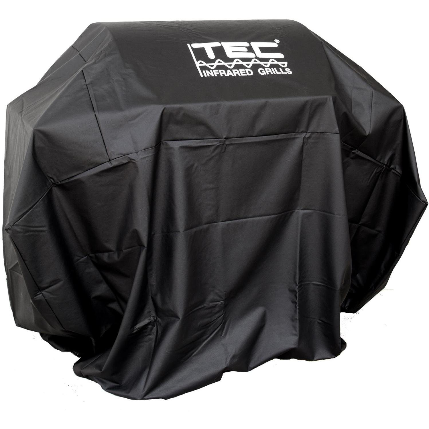 Tec Vinyl Grill Cover For Patio And Sterling Ii - On Cart With Two Side Shelves