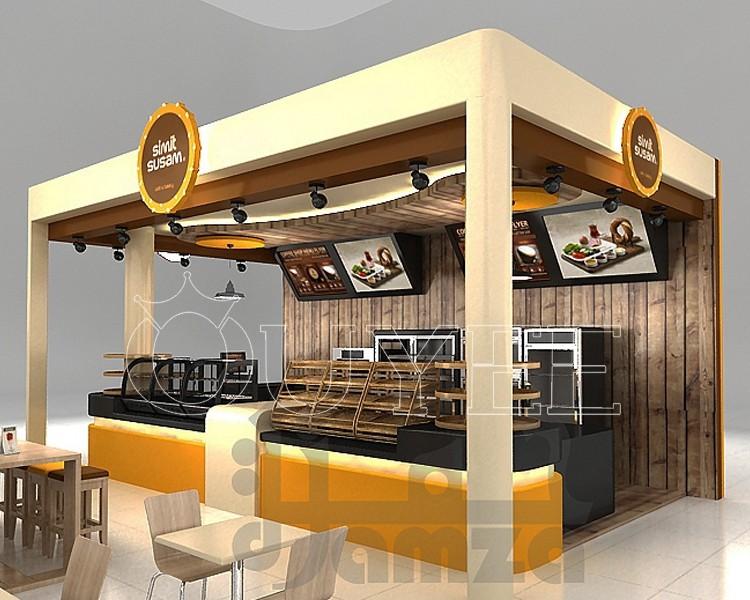 3d dise o helado kiosco burbuja cafeter a venta de muebles for Disenos de kioscos