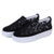 hollow out women embroidery Slip-on sneaker ,ladies casual shoes for walking