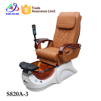 Luxury professional pedicure supplies wholesale Beauty nail salon chair (S820A-3)
