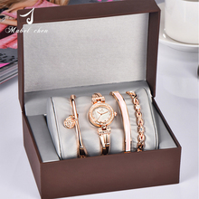 Best Selling Hot China Products Wholesale Gift Set watch For Women bracelet Gift Set Wrist Watch
