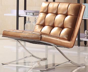 Modern Home Living Room Furniture Chair Barcelona Style Sofa Leisure