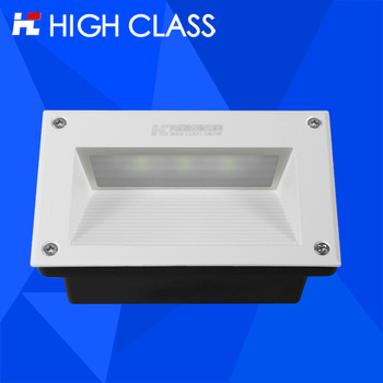 Long lifespan IP67 Waterproof 2w 3W Colorful square LED Underground Light