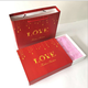 Custom designed high quality pink cardboard small paper gift box