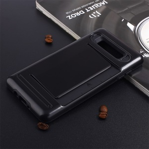 Private Label Phone Accessories Phone Case With Business Card Holder For Samsung Galaxy Note 8