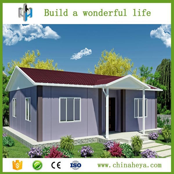 Short period built housing project rust proof portable prefab rooms for sale