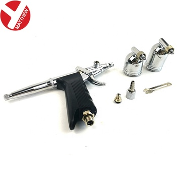 Mini Airbrush Makeup Spray Gun 0.3mm Needle Air Brush For Nail Temporary Tattoo