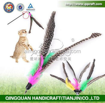 2016 popular wholesale retractable cat teaser stick toys for Retractable cat wand