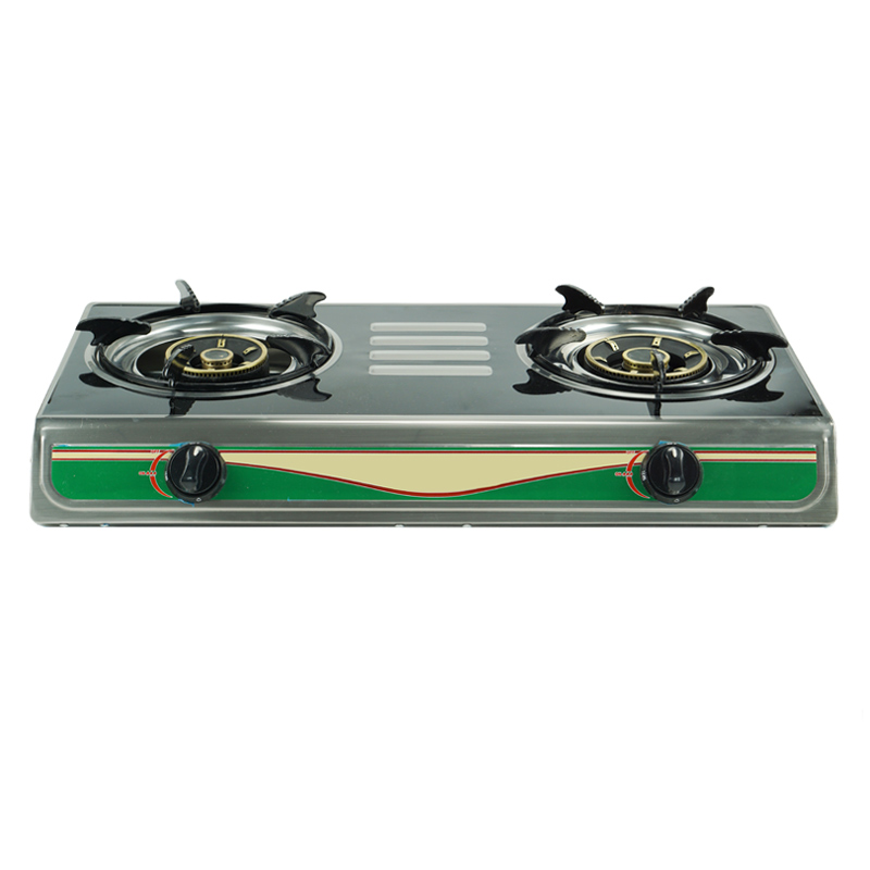 JP-GC202 Cheap China Manufacture Cooking Appliances Double Burner Gas Stove For Sale