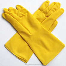 Wholesale guantes de latex waterproof household cleaning gloves
