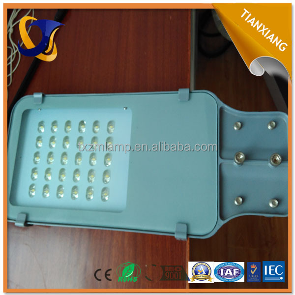 led street light components factory direct 30w led street light
