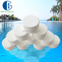 Swimming pool drinking water bulk chlorine powder tablets bromine tablets 20g (BCDMH)