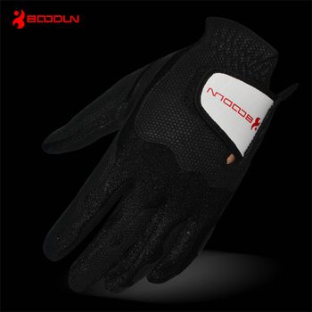 Wholesale factory price best quality cabretta leather golf glove for all sizes