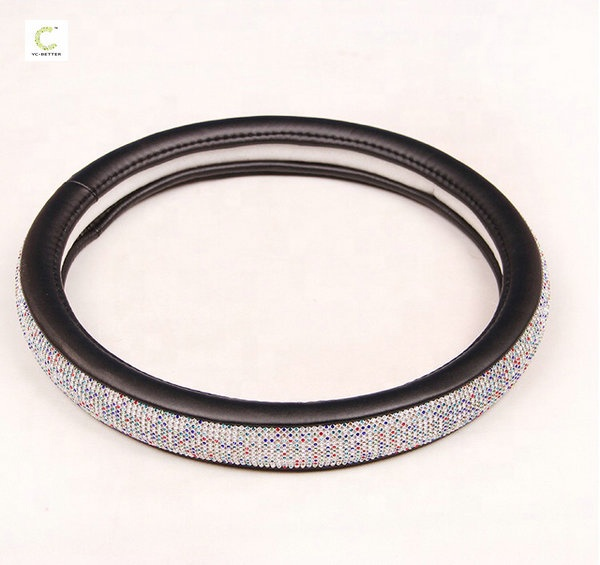 Auto accessoires hot selling fashion diamant stuurhoes voor vrouw