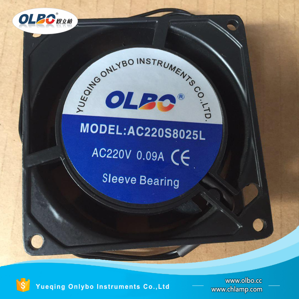 High Performance 80*80*25mm Axial AC Fan 240v 60Hz AC 8025 Cooling Fan with <strong>CE</strong> RoHS Approved