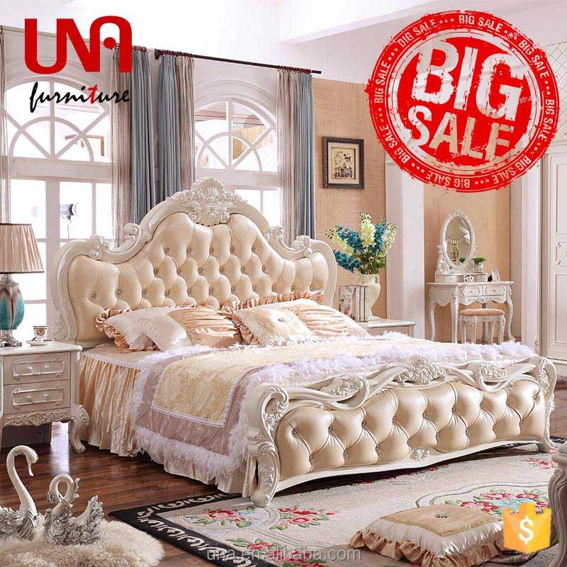 Venta al por mayor camas king size de madera-Compre online los ...