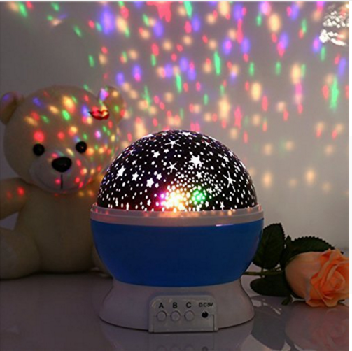 Amazing Led Sky Star Master Baby Night Light Projector