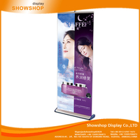 Popular deluxe Stylish pop roll up banner stand