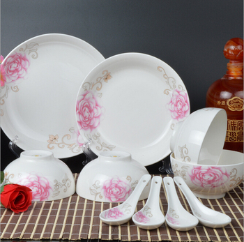 Wholesale Ceramic Plate Cheap Bulk Flat White Porcelain Dinner ...