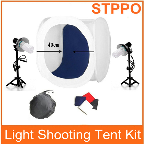 STPPO Photography Lighting Photo Box 40cm Photo Jewelry Box Kit