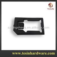 Plastic PP material mobile phone dual sim card adapter for iphone 4 4S
