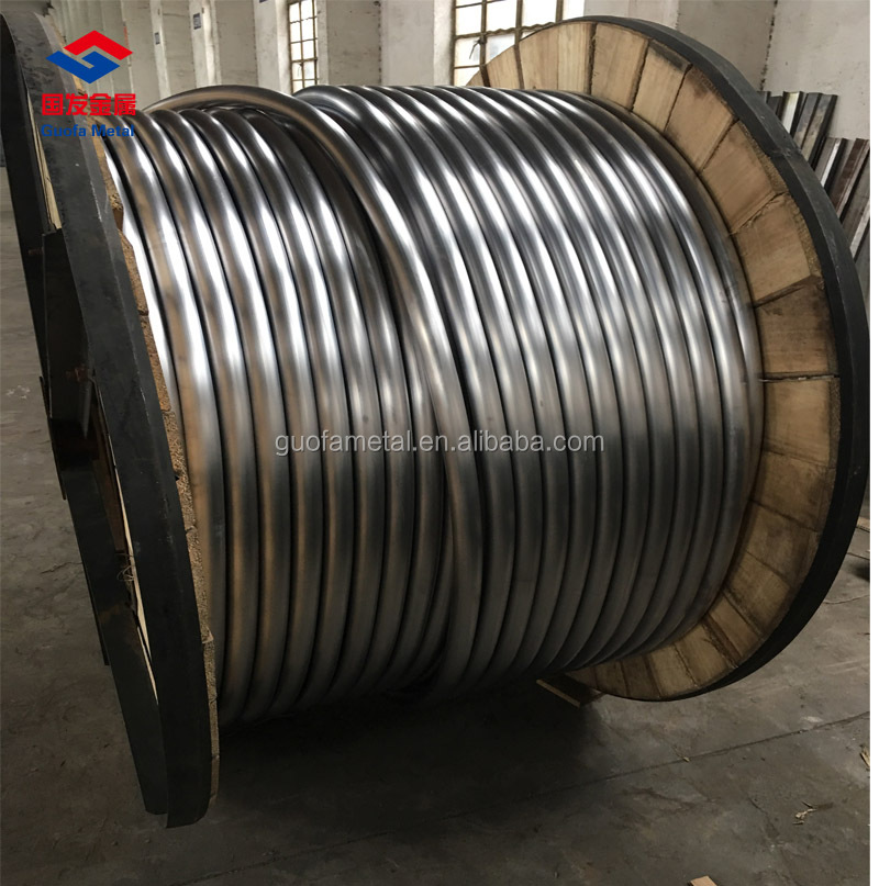 High Quality 99.994% Seamless Lead Pipe