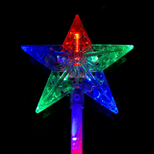 2017 led magic princess wand illuminated wand for promotion