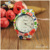 Women Girl Geneva Leather Rose Flower Watch Quartz Watches , silicon watch WAT1914J