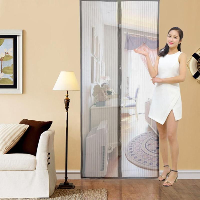 Magnetic Curtains Door <strong>Screen</strong> Anti-Mosquit Curtain Hands-free Mosquito Net Curtain For Kitchen Door <strong>Screens</strong>