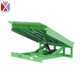 10t Manual Hydraulic Truck Loaded Stationary Container Dock Ramp