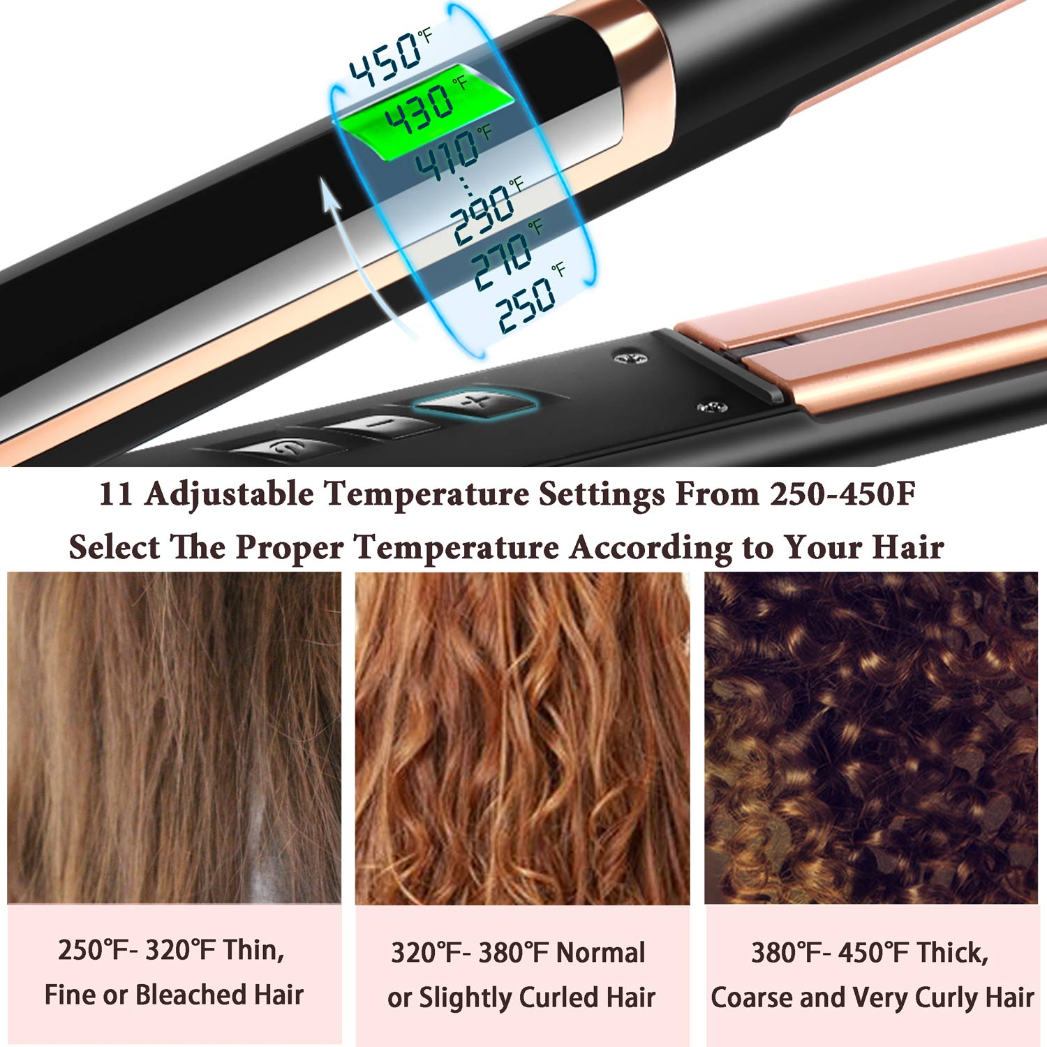 Fashion Infrared hair straightener flat irons wholesale professional hair straightener