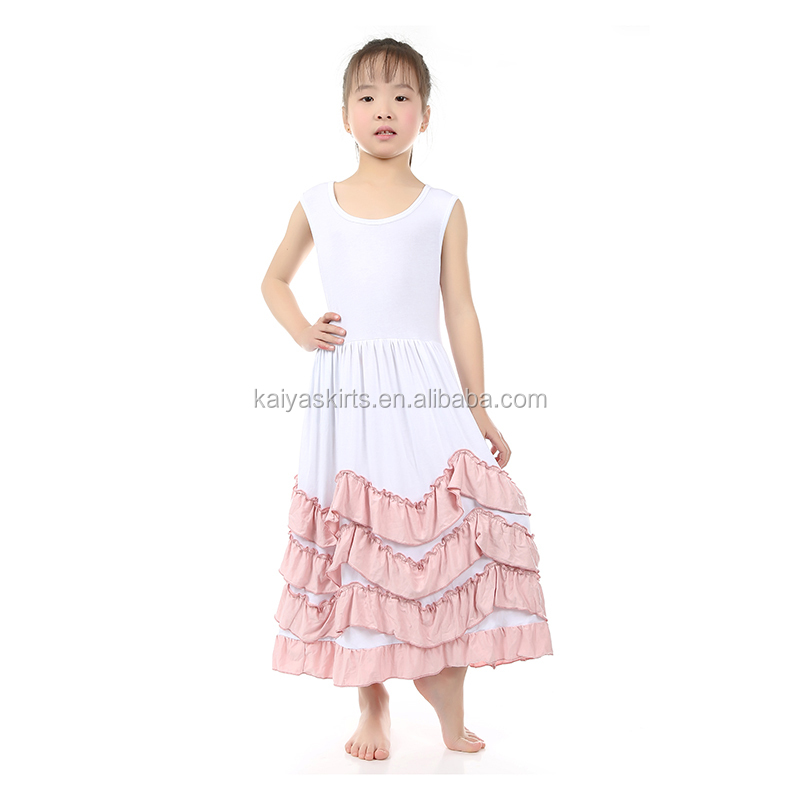 8cb32c8d306ce New Fashion Girls Tank Long Dress Angel Style Children Frocks Designs  Wholesale - Buy Children Long Frocks Designs,Kids Frock Styles,Simple  Design ...