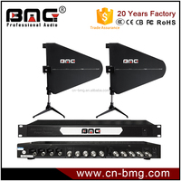 BMG Professional Four Channels UHF Antenna Distributor for Wireless microphone/Similar Shure Antenna Distributor System