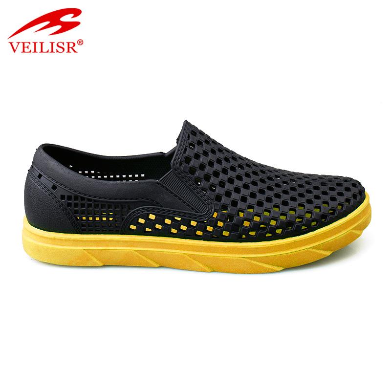 New design summer beach PVC sandals casual driving shoes men clogs