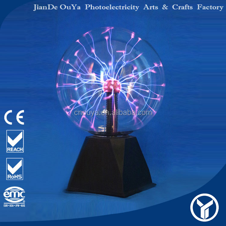 China supplier battery operated big plasma ball