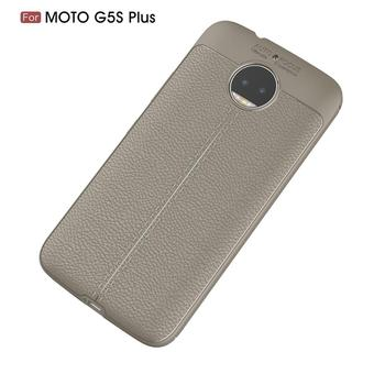 uk availability 2b993 346df Luxury Tpu Case For Moto G5s Plus Leather Texture Silicone Back Cover Case  - Buy Lichi Pattern Case,Leather Silicone Back Case,Back Cover Case For G5s  ...