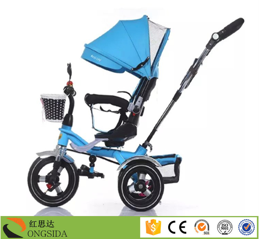 Luxury Baby Tricycle From China Factory,Kids Stroller With 3 Wheels