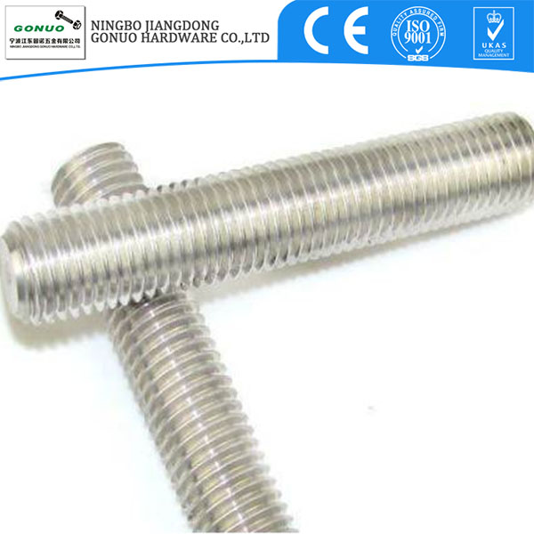 DIN 975 galvanized Carbon steel short all thread rod