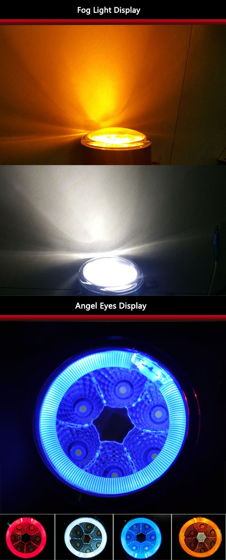 auto foglight for tundra foglight led for cars for kilang/wish corolla camry 2015 for highlander foglight