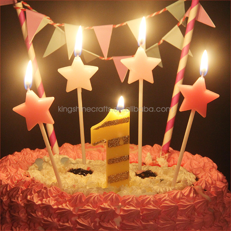 2018 Birthday Cake Candles Sparklers