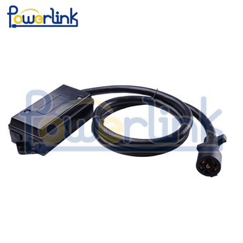 H60023 6ft Foot 7 Way Trailer Cord Wire Harness Light Plug ...