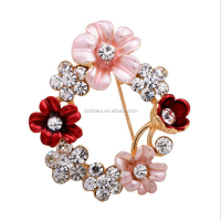 2017 Factory Direct Cheap Price Wholesale Beautiful Rhinestone Acrylic Brooch