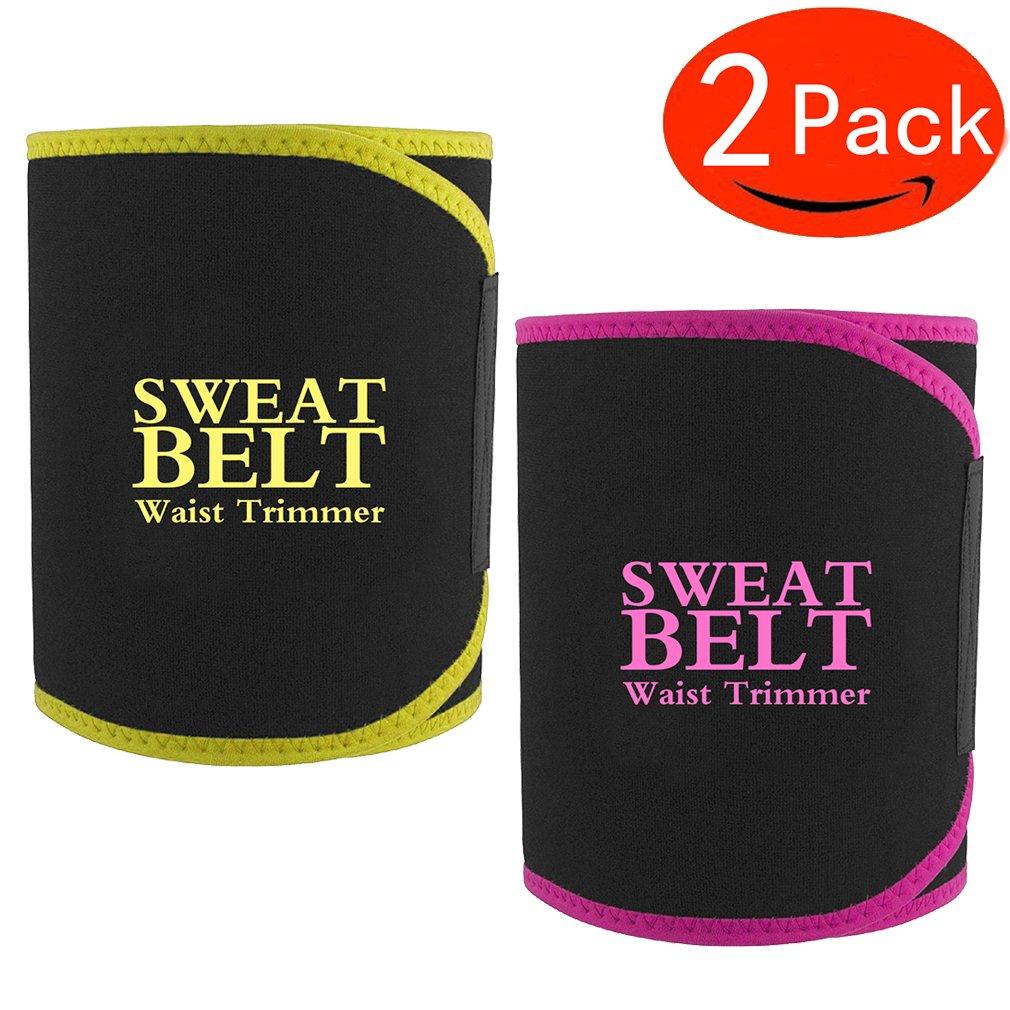 Waist Trimmer, Waist Trimmer Belt for Men & Women, Weight Loss products kit, Stomach Fat Burner, Lumbar Support belt ,Best Abdominal Trainer By SSGJK