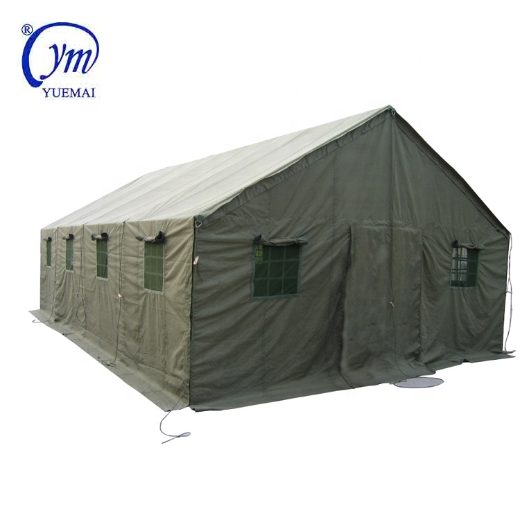 Wholesale high quality custom military 5X8m army green camping tent