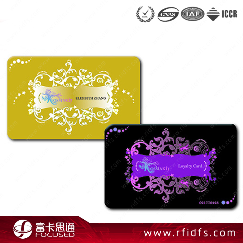 Hot sale programmable 13.56mhz rfid MIFARE Classic 1K/4K card