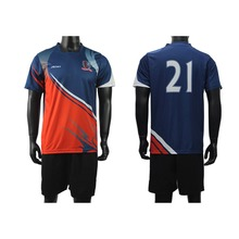 New model custom top thai quality men sublimation quick dry soccer jersey manufacture